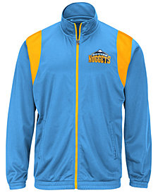 G-III Sports Men's Denver Nuggets Clutch Time Track Jacket