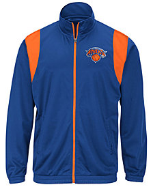 G-III Sports Men's New York Knicks Clutch Time Track Jacket