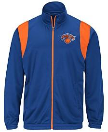 G-III Sports Men's New York Knicks Clutch Time Track Jacket
