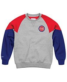 Men's Detroit Pistons Trading Block Crew Sweatshirt
