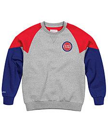 Mitchell & Ness Men's Detroit Pistons Trading Block Crew Sweatshirt