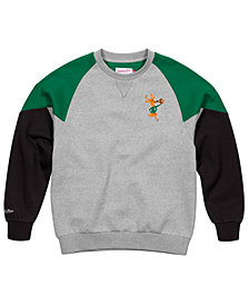 Mitchell & Ness Men's Milwaukee Bucks Trading Block Crew Sweatshirt