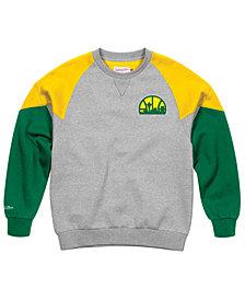 Mitchell & Ness Men's Seattle SuperSonics Trading Block Crew Sweatshirt