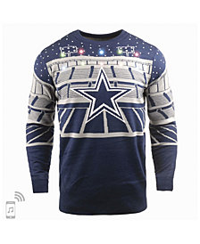 Forever Collectibles Men's Dallas Cowboys Bluetooth Sweater