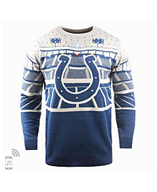 Forever Collectibles Men's Indianapolis Colts Bluetooth Sweater