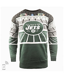Forever Collectibles Men's New York Jets Bluetooth Sweater