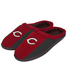 Forever Collectibles Cincinnati Reds Knit Cup Sole Slippers