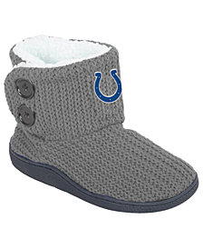 Forever Collectibles Women's Indianapolis Colts Knit Two Button Boots