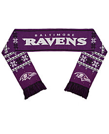 Forever Collectibles Baltimore Ravens Light Up Scarf