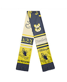 Strideline Pittsburgh Steelers Reversible Retro Scarf
