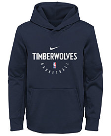 Nike Minnesota Timberwolves Spotlight Hoodie, Big Boys (8-20)