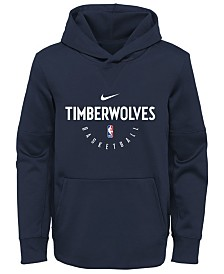 Nike Minnesota Timberwolves Spotlight Hoodie, Big Boys (8-20)