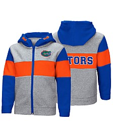 Colosseum Florida Gators Colorblocked Full-Zip Sweatshirt, Toddler Boys (2T-4T)