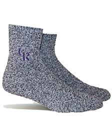 Colorado Rockies Parkway Team Fuzzy Socks