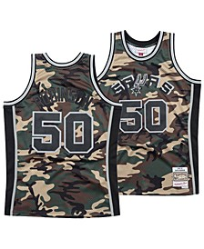 Men's David Robinson San Antonio Spurs Woodland Camo Swingman Jersey