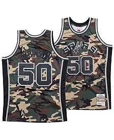 Mitchell & Ness Men's David Robinson San Antonio Spurs Woodland Camo Swingman Jersey