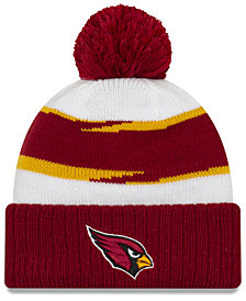 New Era Arizona Cardinals Thanksgiving Pom Knit Hat