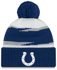 New Era Indianapolis Colts Thanksgiving Pom Knit Hat