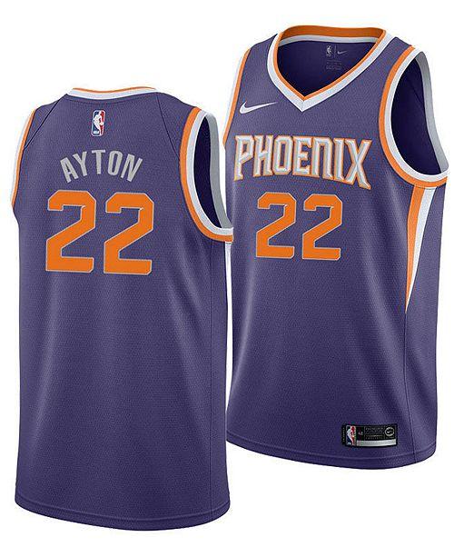 1e5abfc8be06 ... Nike Deandre Ayton Phoenix Suns Icon Swingman Jersey