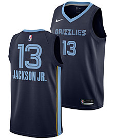 Nike Jaren Jackson Jr. Memphis Grizzlies Icon Swingman Jersey, Big Boys (8-20)