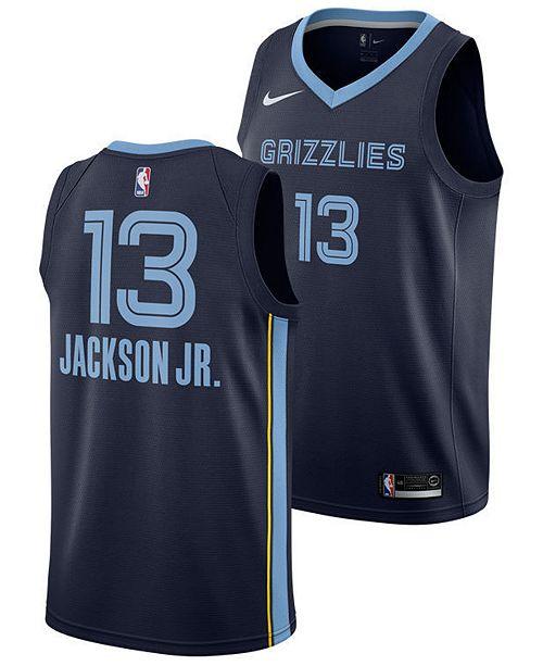 70c1a72ec1b ... Nike Jaren Jackson Jr. Memphis Grizzlies Icon Swingman Jersey, Big Boys  (8- ...