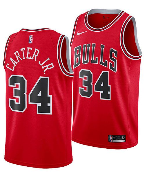 acedd8324 ... Nike Wendell Carter Jr. Chicago Bulls Icon Swingman Jersey