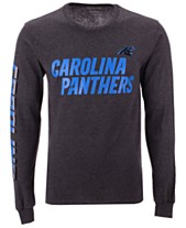 Authentic NFL Apparel Men s Carolina Panthers Streak Route Long Sleeve T- Shirt b2731dd32