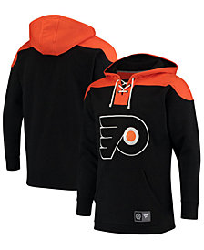 Majestic Men's Philadelphia Flyers Breakaway Lace Up Hoodie