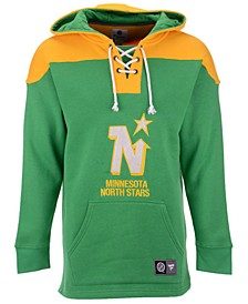 Men's Minnesota North Stars Breakaway Lace Up Hoodie