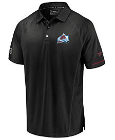 Majestic Men's Colorado Avalanche Rinkside Pro Polo