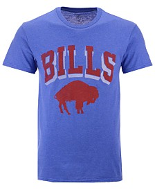 Authentic NFL Apparel Men's Buffalo Bills Shadow Arch Retro T-Shirt