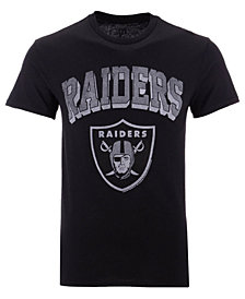 Authentic NFL Apparel Men's Oakland Raiders NFL Shadow Arch Retro T-shirt