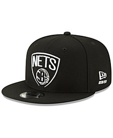 New Era Brooklyn Nets Logo Trace 9FIFTY Snapback Cap