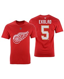 Men's Aaron Ekblad Florida Panthers Authentic Stack Name & Number T-Shirt