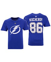 f201a333d Majestic Men s Nikita Kucherov Tampa Bay Lightning Authentic Stack Name    Number ...