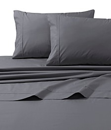 Tribeca Living 300 Thread Count Cotton Percale Standard Pillowcases