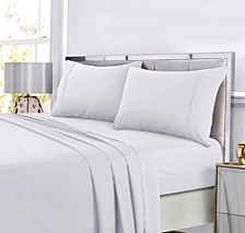 Super Soft Solid DP Easy-Care Extra Deep Pocket Full Sheet Set