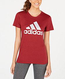 adidas ClimaLite® Shine Logo T-Shirt, Created for Macy's