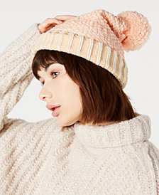 Free People River Locks Pom Pom Beanie
