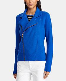Lauren Ralph Lauren Petite Moto Jacket