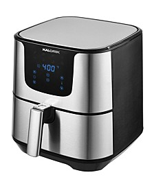 3.5 Qt. Stainless Steel Digital Airfryer