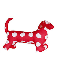 Masala Baby Buddy Dog Kolam Ikat Dots Toy