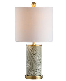 Swirl Ceramic Led Table Lamp
