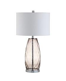 Juliette Glass, Metal Led Table Lamp