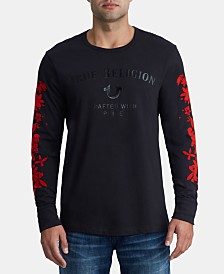 True Religion Men's Bloom Logo T- Shirt