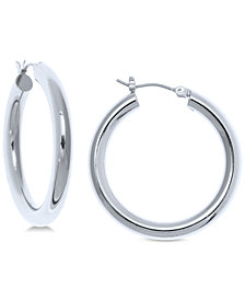 Lauren Ralph Lauren Medium Hoop Earrings