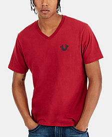 True Religion Men's Classic Horseshoe Logo T-Shirt