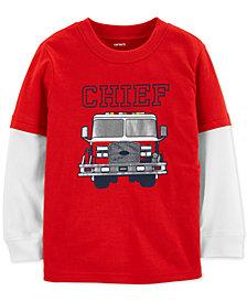 Carter's Toddler Boys Layered-Look Cotton T-Shirt