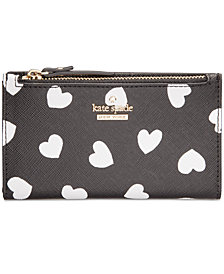 kate spade new york Cameron Street Heart Mikey Wallet
