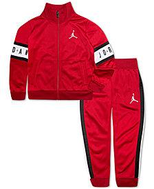Jordan Little Boys 2-Pc. Colorblocked Jacket & Pants Set